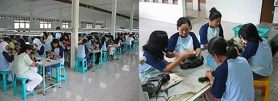 優れた海外工場で、優秀なスタッフがあなたのかつらを一つ一つ手縫いします