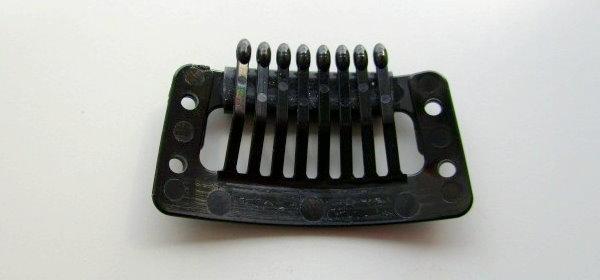 かつら用ストッパーピン(かつらクリップ)プラスチック樹脂タイプ1