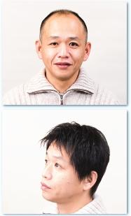 男性用即納かつらモデル画像