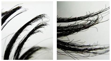 人工毛髪の特徴と人工毛かつらを使用した感想は?