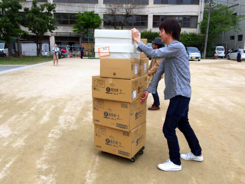 熊本地震2日目2