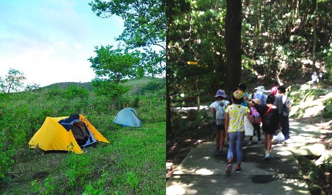 かつら体験キャンプ参加