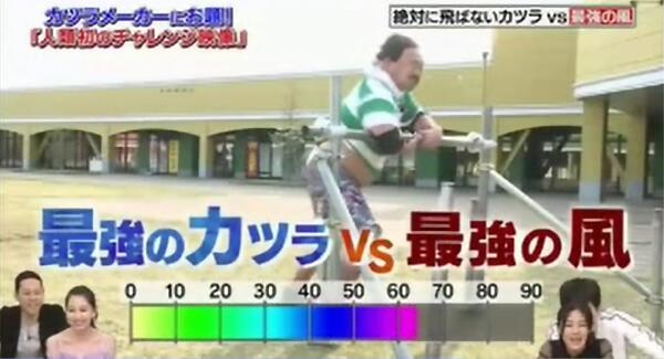 フジテレビ「THEお題シアター」かつら10
