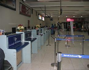 かつら工場訪問記 インドネシア空港