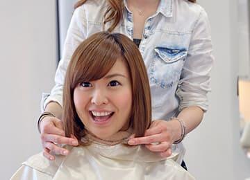 よりお似合いの女性かつらの髪型は、ご来店がお薦め
