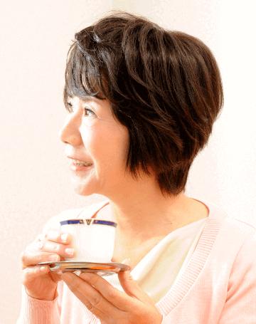 オーダーメイドウィッグ女性ユーザー1髪型スタイル