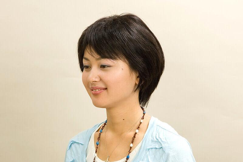 医療用かつら・女性ウィッグ髪型例ふんわりボリュームショート