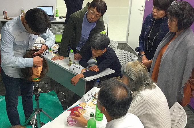 カツラ講習会2017_12