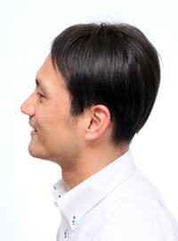 男性かつら髪型005横から画像