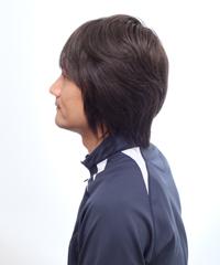 男性かつら髪型006斜め画像