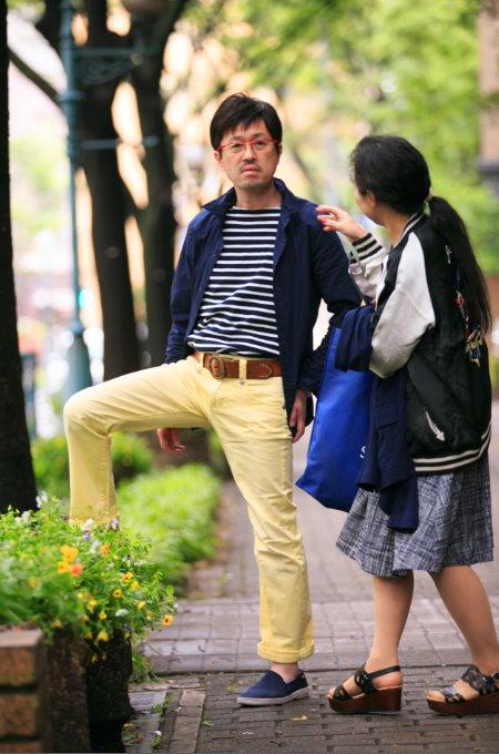 男性用かつらモデル画像scene3