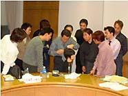 かつら講習会 2002