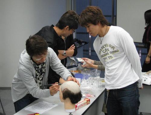 かつら講習会 2008