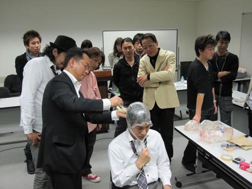かつら講習会 2009