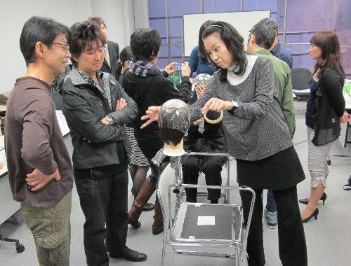 かつら講習会 2010