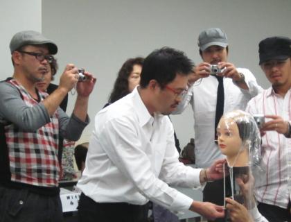かつら講習会 2011
