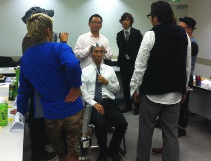 かつら講習会 2012
