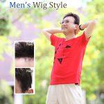 ナチュラル男性用かつらモデル033髪型カタログ