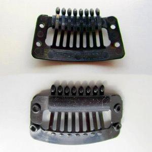 カツラ用ストッパーピン(クリップ) プラスチック樹脂タイプ